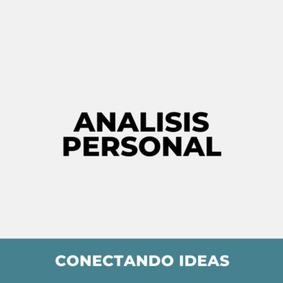 6. Análisis personal